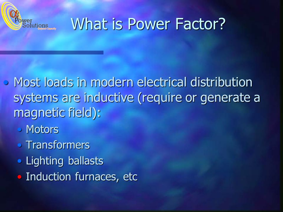 What is Power Factor.