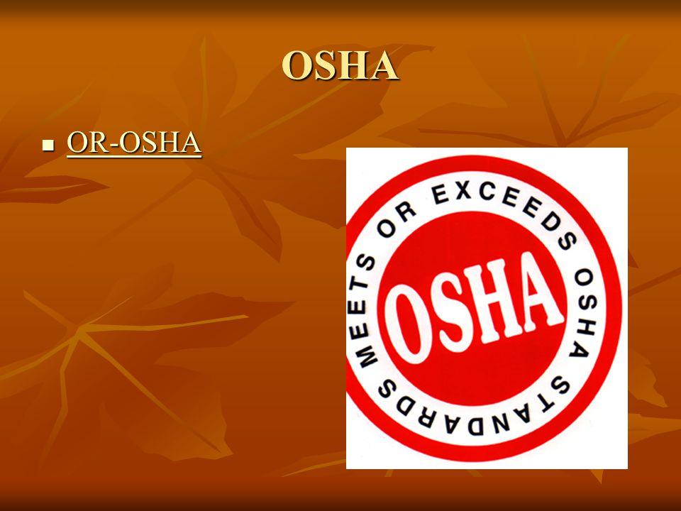 OSHA OR-OSHA OR-OSHA OR-OSHA