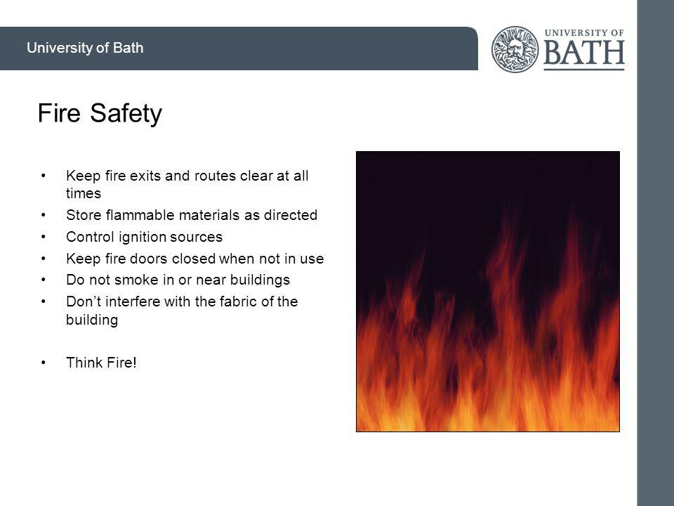 Specific Hazards Department of _______________