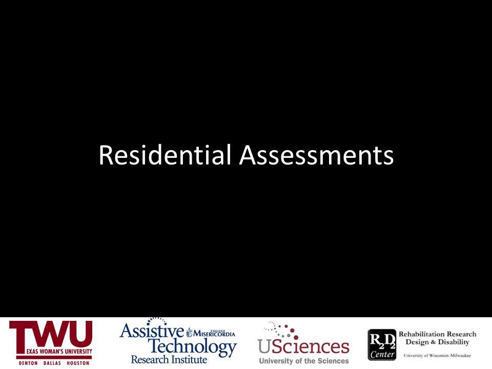 Residential Assessments