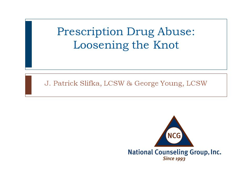 Commonly Abused Rx Drugs How they workAbused toDrug names Strong Pain RelieversUsed to relieve moderate-to-severe pain, these medications block pain signals to the brain To get high, increase feelings of well being by affecting the brain regions that mediate pleasure Vicodin, OxyContin, Percocet, Lorcet, Lortab, Actiq, Darvon, Codeine, Morphine, Methadone StimulantsPrimarily used to treat ADHD type symptoms, these speed up brain activity causing increased alertness, attention, and energy that comes with elevated blood pressure, increased heart rate and breathing Feel alert, focused and full of energyperhaps around final exams or to manage coursework, lose weight Adderall, Dexedrine Ritalin, Concerta Sedatives or tranquilizers Used to slow down or depress the functions of the brain and central nervous system Feel calm, reduce stress, sleep Valium, Xanax, Ativan, Klonopin, Restoril, Ambien, Lunesta, Mebaral, Nembutal, Soma