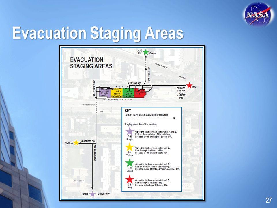 Evacuation Staging Areas 27