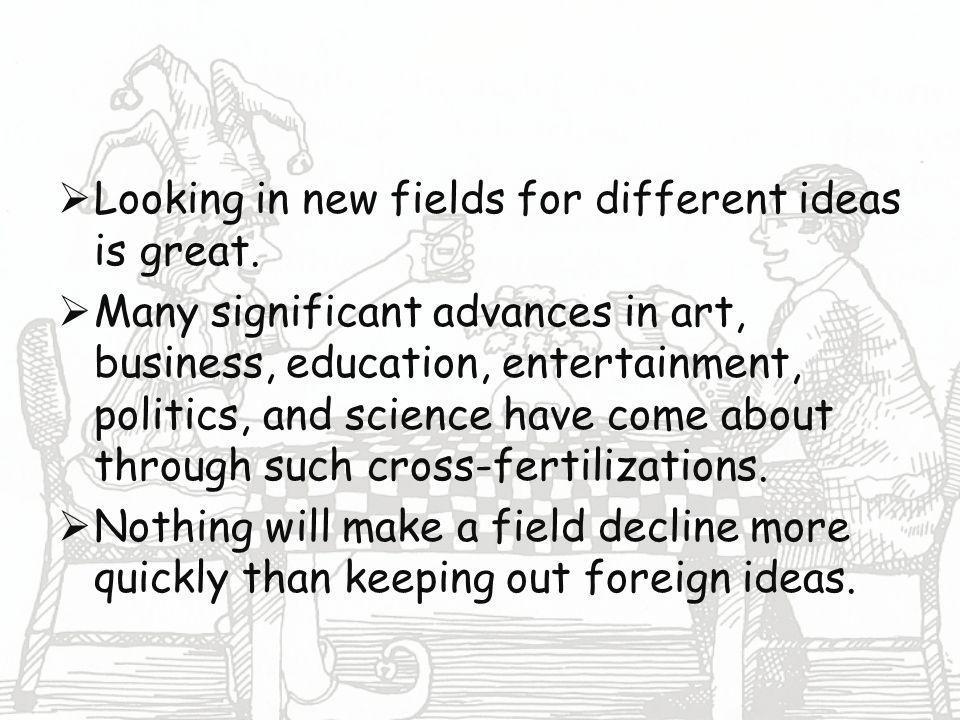 Cross-Fertilization Boot To The Head!