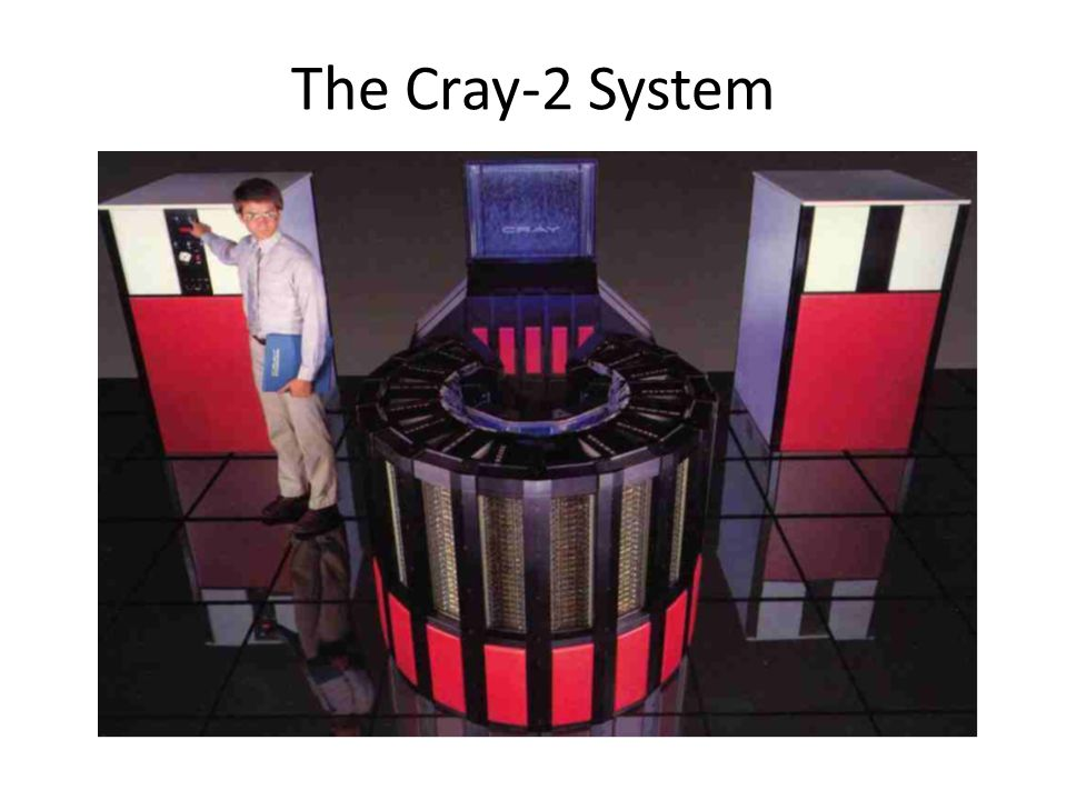 The Cray-2 System
