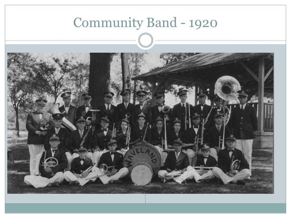 Community Band - 1920