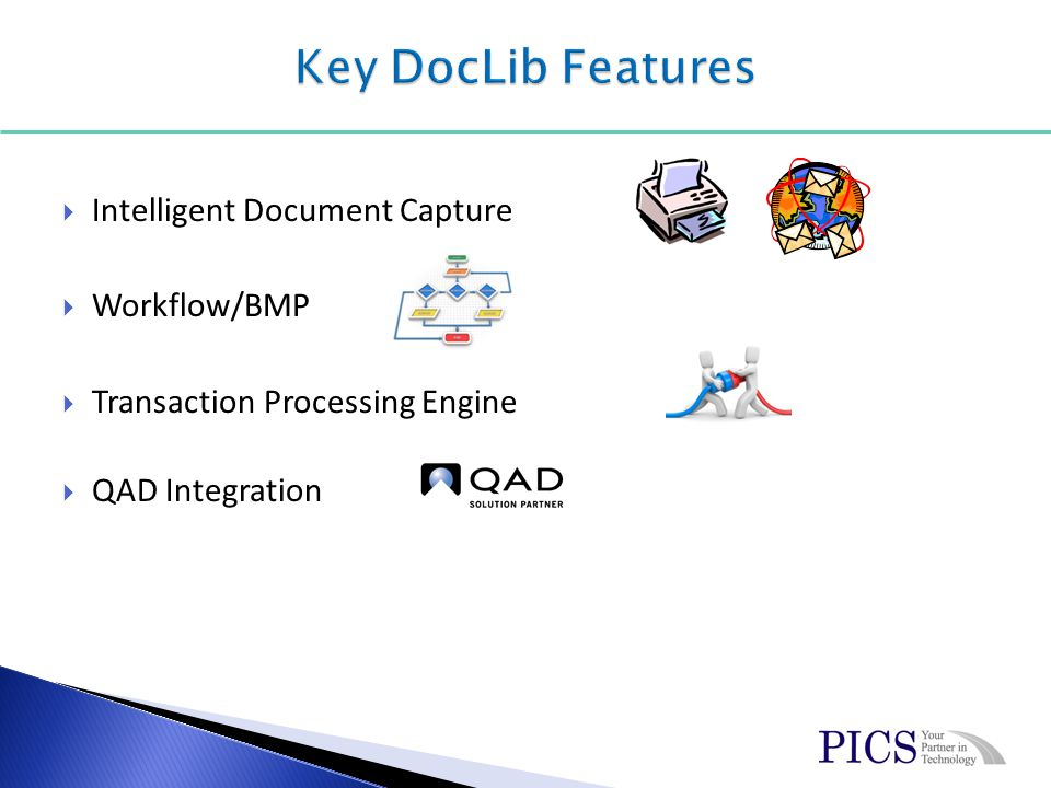 Intelligent Document Capture Workflow/BMP Transaction Processing Engine QAD Integration