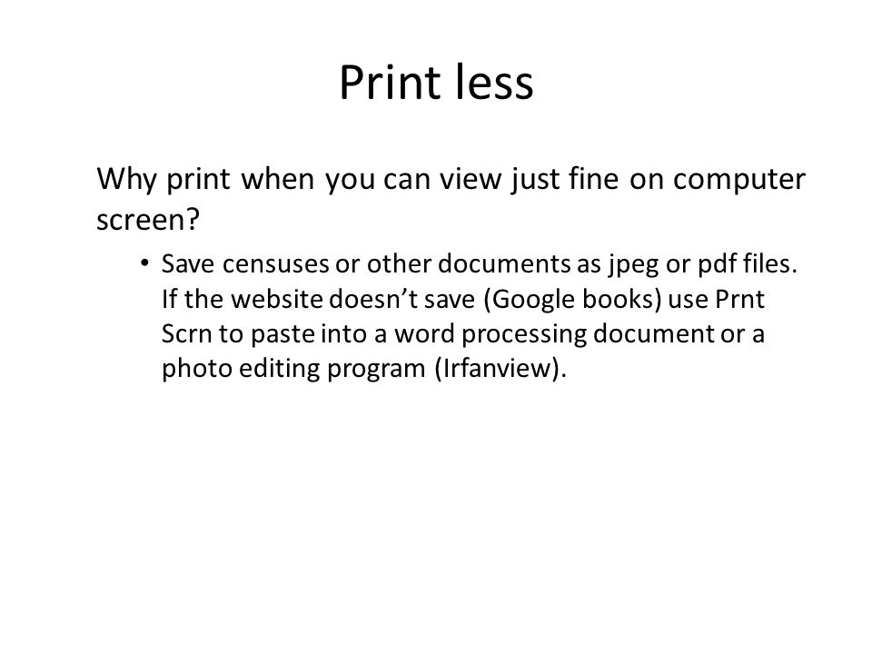 Print less Need to Circle, comment and line documents up.
