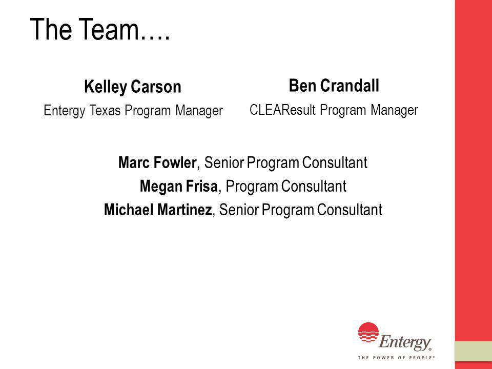 The Team….