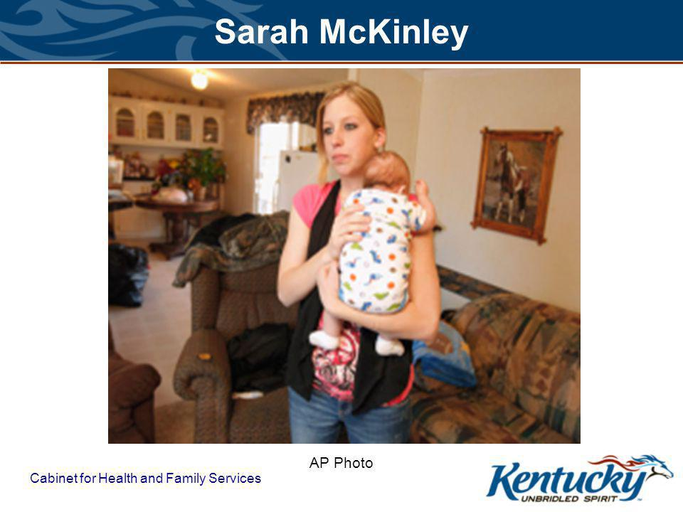 Cabinet for Health and Family Services Sarah McKinley AP Photo