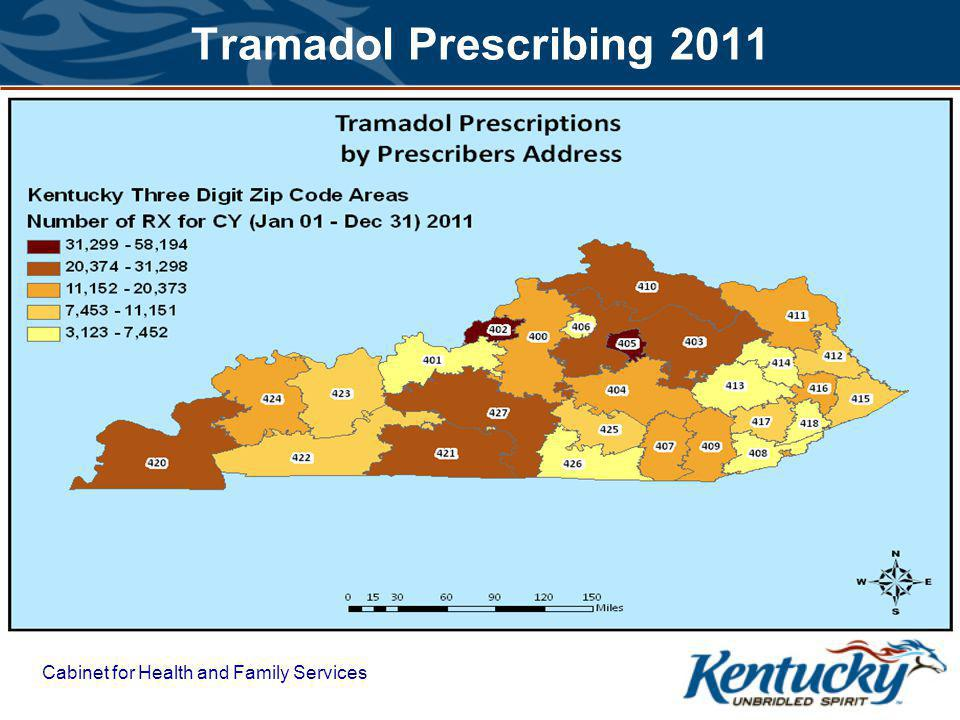 Cabinet for Health and Family Services Tramadol Prescribing 2011