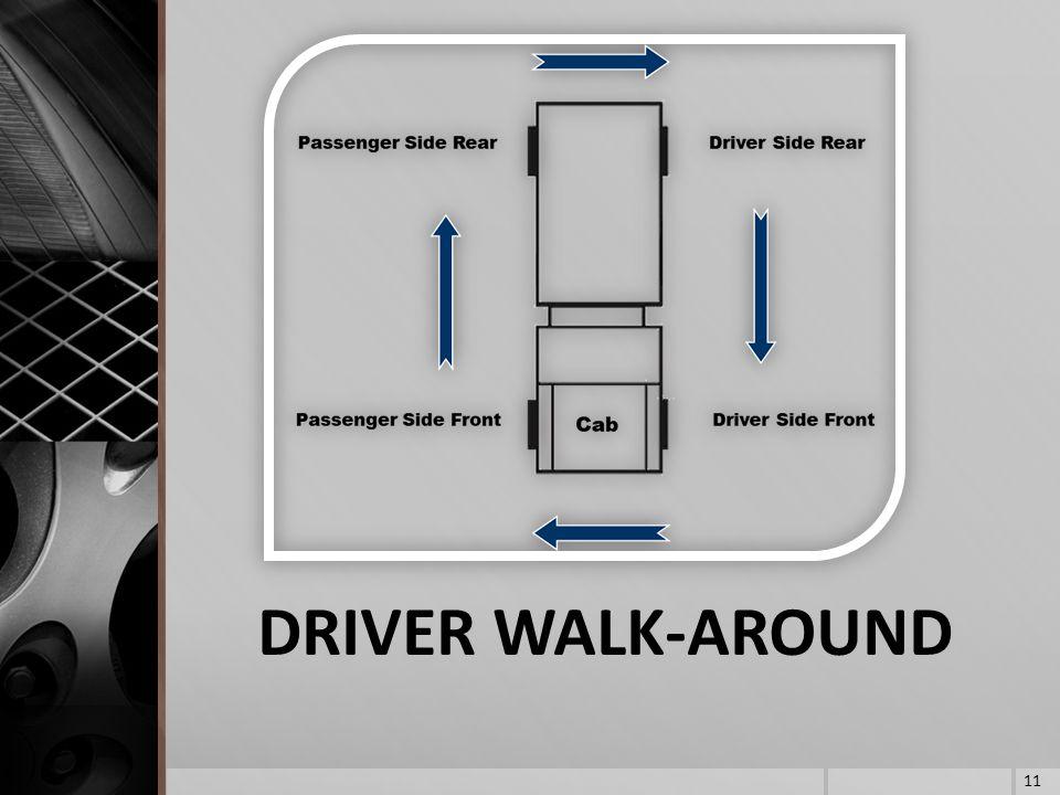 DRIVER WALK-AROUND 11