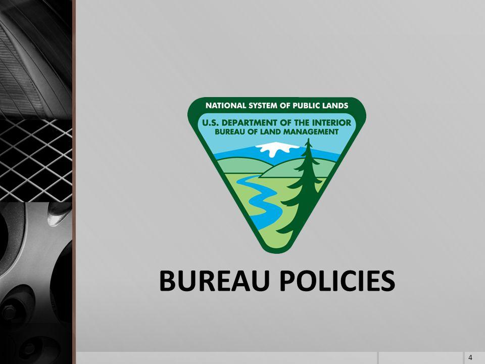 BUREAU POLICIES 4
