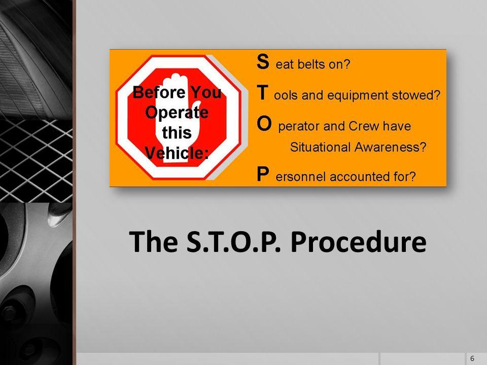 The S.T.O.P. Procedure 6