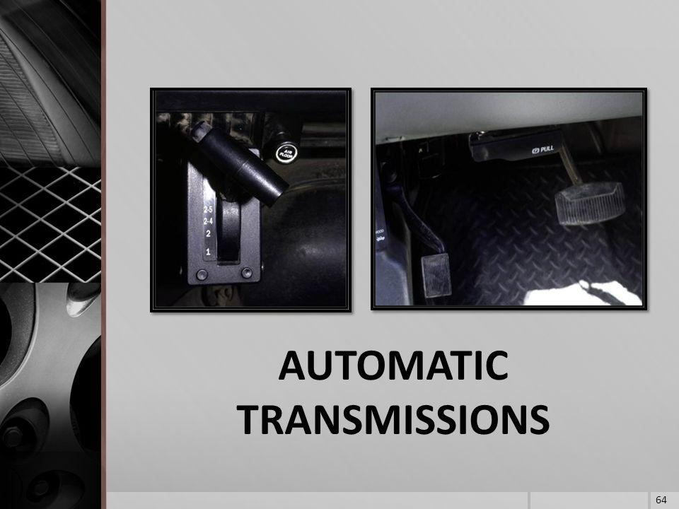 AUTOMATIC TRANSMISSIONS 64