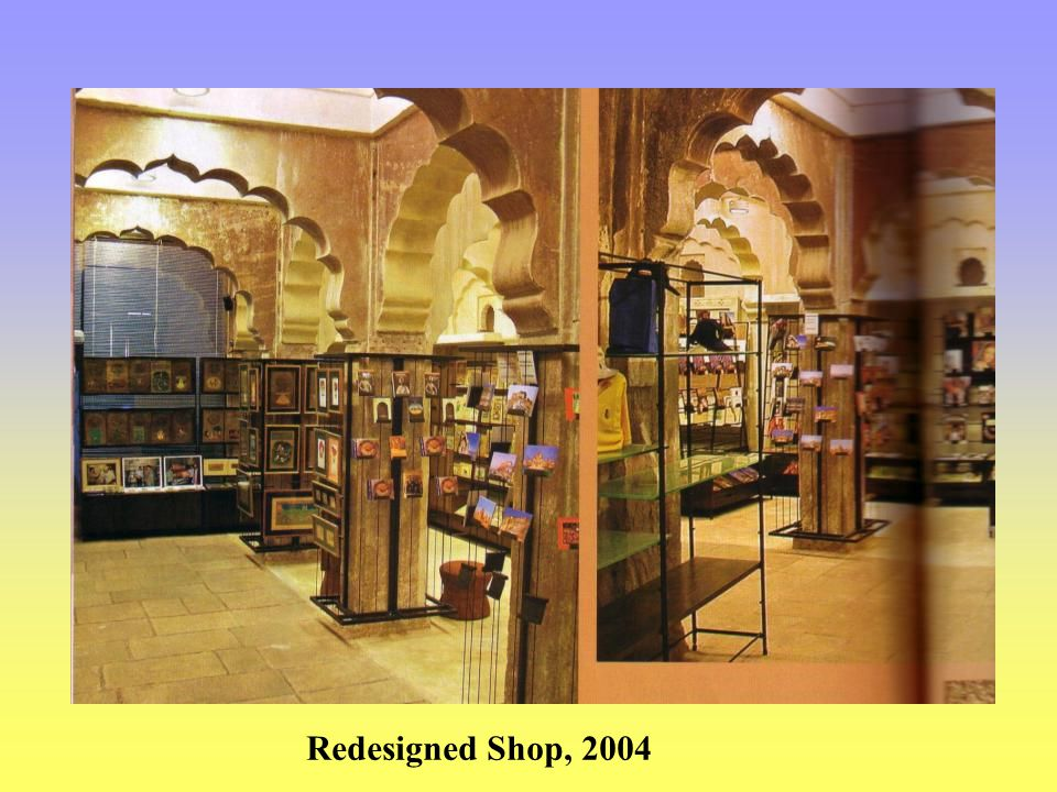 Redesigned Shop, 2004