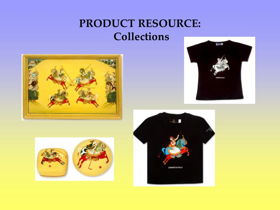 PRODUCT RESOURCE: Collections