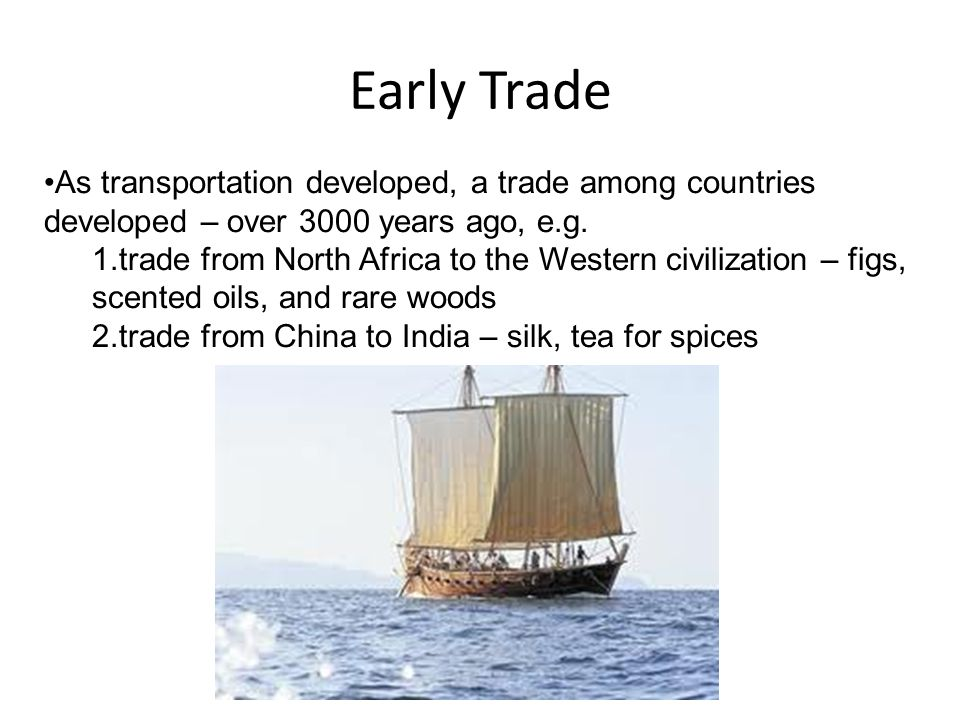 The First Trade Regulations The first trade regulations came about during the early part of the Middle Age (476 C.E.