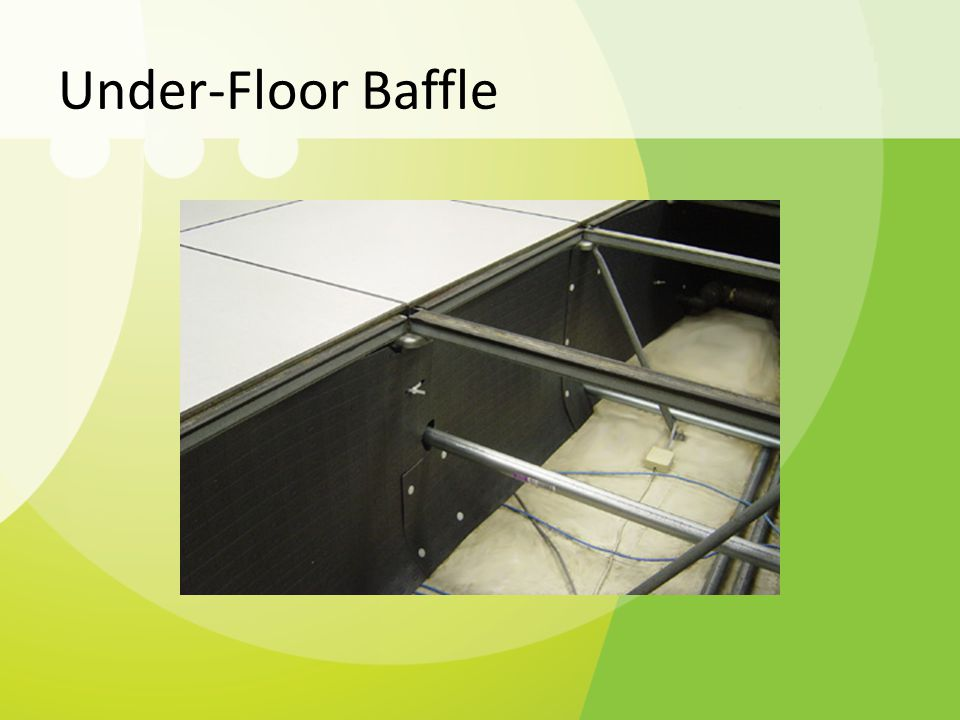 Under-Floor Baffle