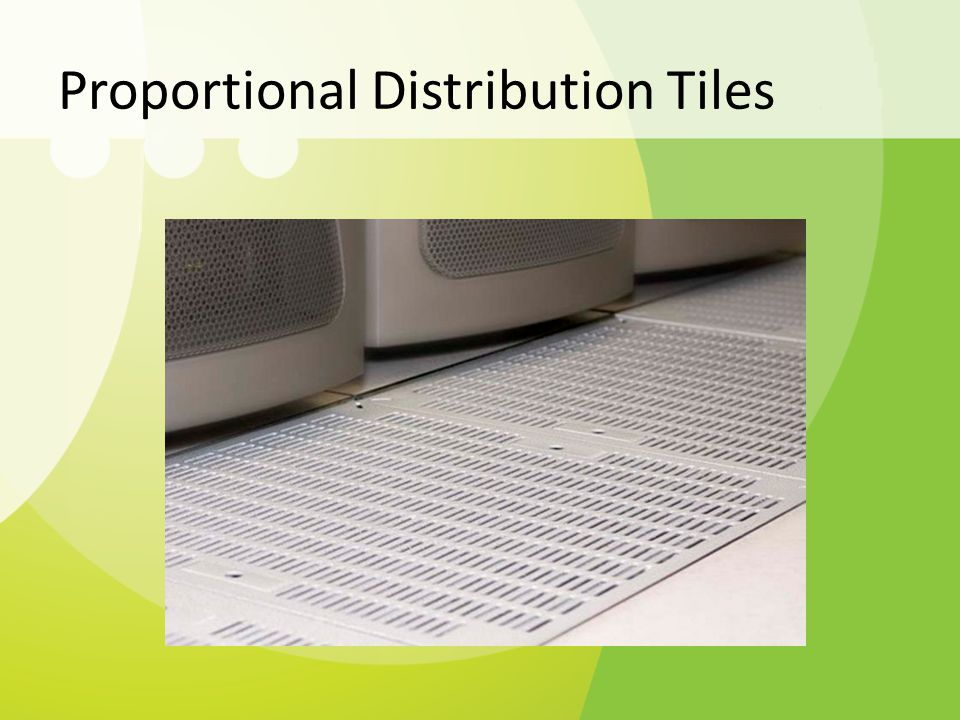 Proportional Distribution Tiles