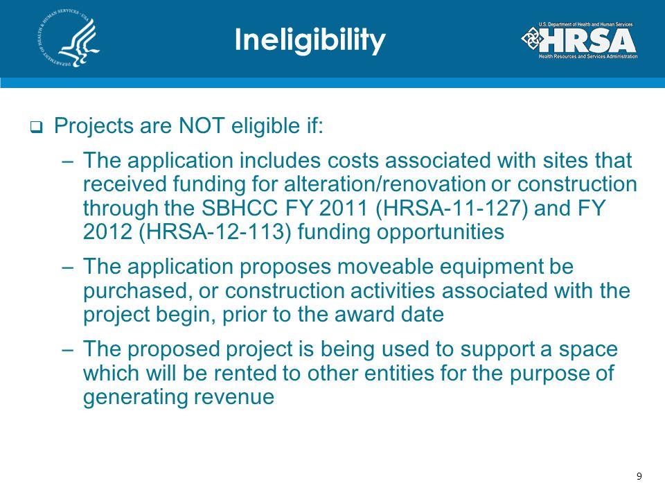 Registration in HRSAs EHB is required –Refer to http://www.hrsa.gov/grants/userguide.htm for registration information, process instructions, and frequently asked questionshttp://www.hrsa.gov/grants/userguide.htm –For technical support, call the HRSA Call Center at 1- 877-464-4772 The Authorizing Official (AO) must complete submission of the application More information and technical assistance is available at http://www.hrsa.gov/grants/apply/assistance/sbhcc http://www.hrsa.gov/grants/apply/assistance/sbhcc HRSAs EHB 20