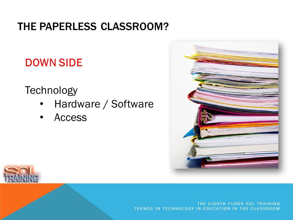 THE PAPERLESS CLASSROOM.