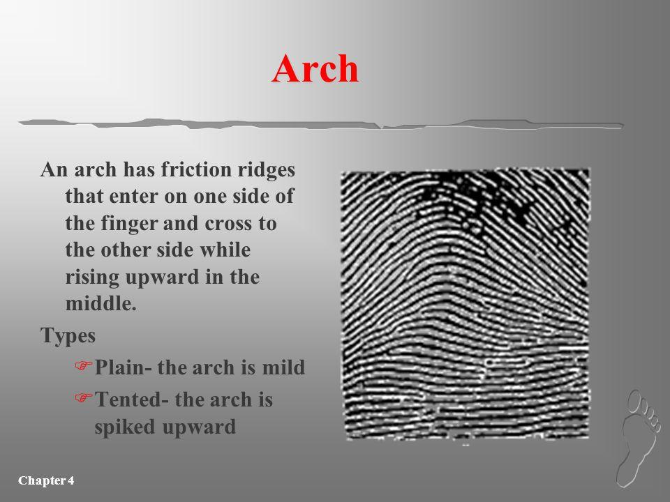 Chapter 4 Characteristics of fingerprints
