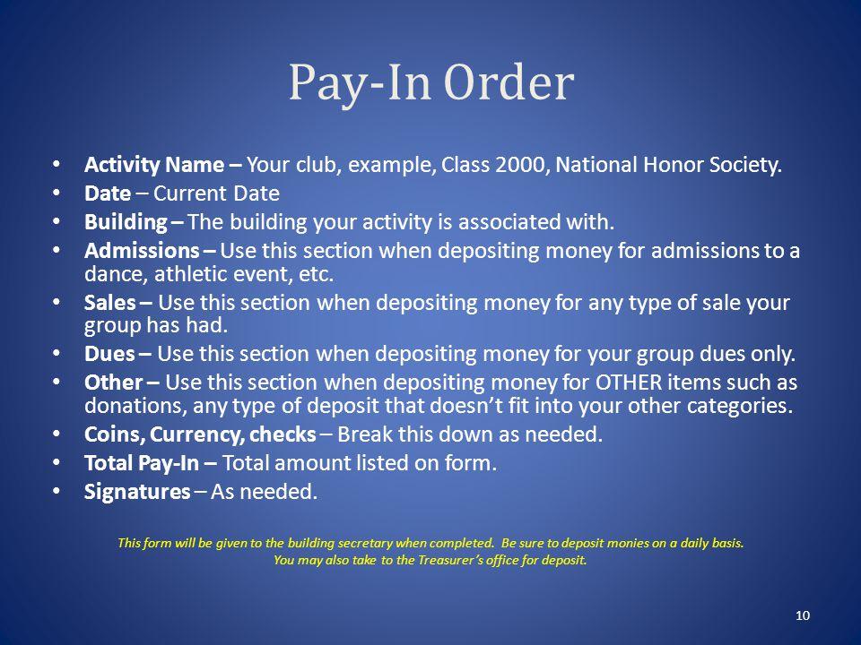 Sales Potential Summary Form 9