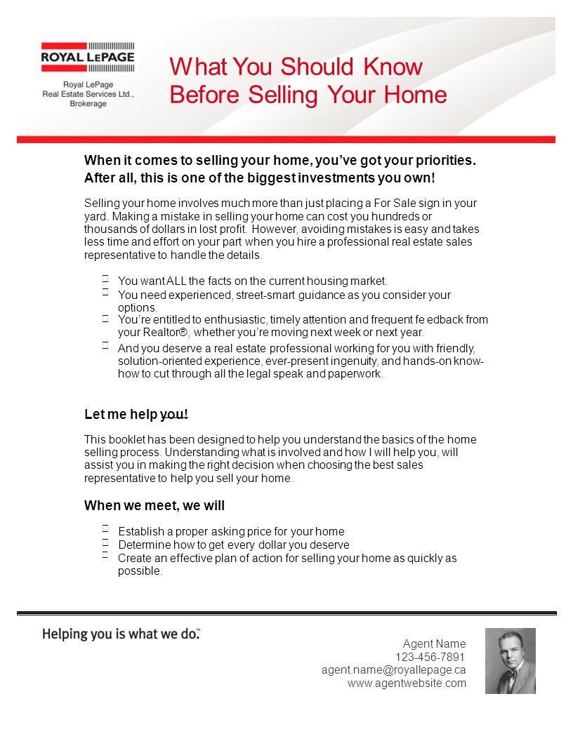 What You Should Know Before Selling Your Home When it comes to selling your home, youve got your priorities.