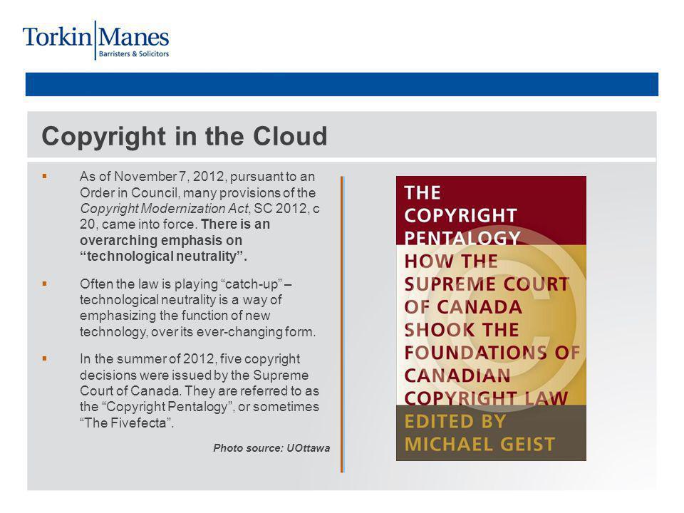 ESAC v.SOCAN Source: IPOsgoode Entertainment Software Association of Canada v.