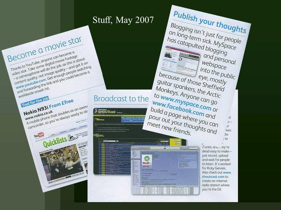 Stuff, May 2007