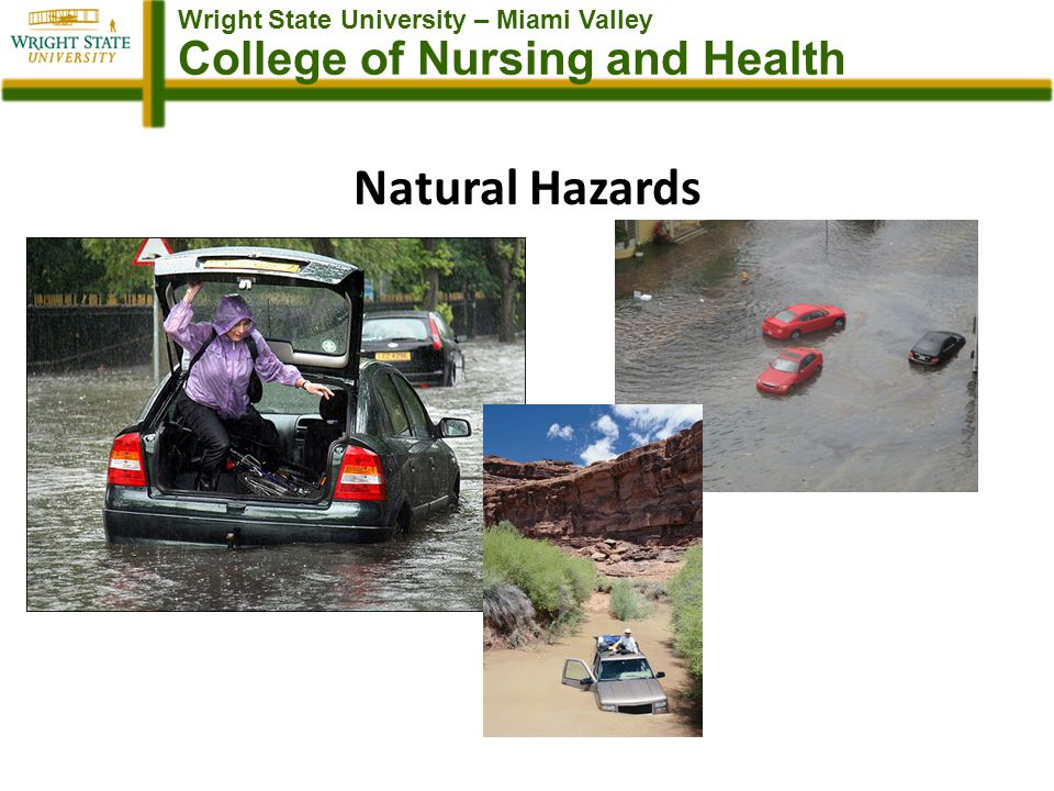 Wright State University – Miami Valley College of Nursing and Health Natural Hazards
