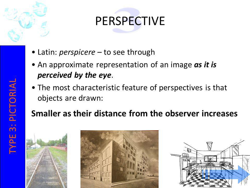 IOT POLY ENGINEERING 2-10 Latin: perspicere – to see through An approximate representation of an image as it is perceived by the eye. The most charact