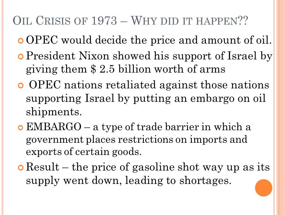 W HAT WAS OPEC S P OINT .