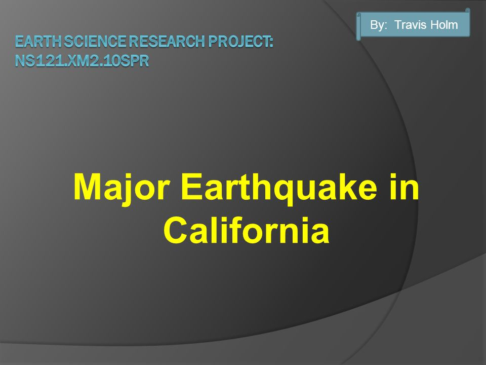 I believe a major earthquake in California will have the biggest impact on society within my lifetime.