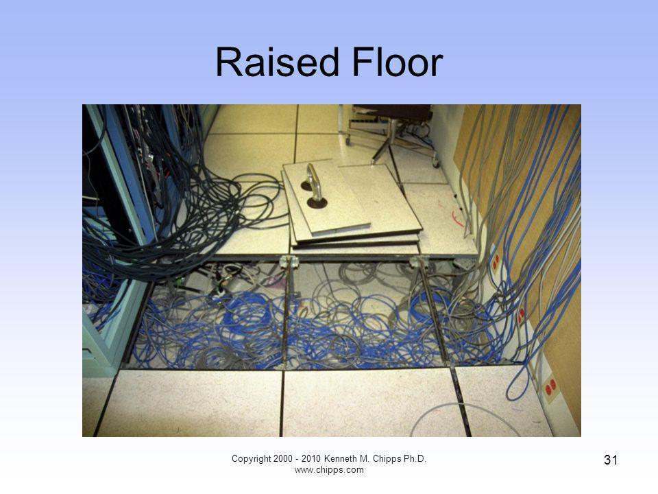 Raised Floor Copyright 2000 - 2010 Kenneth M. Chipps Ph.D. www.chipps.com 31