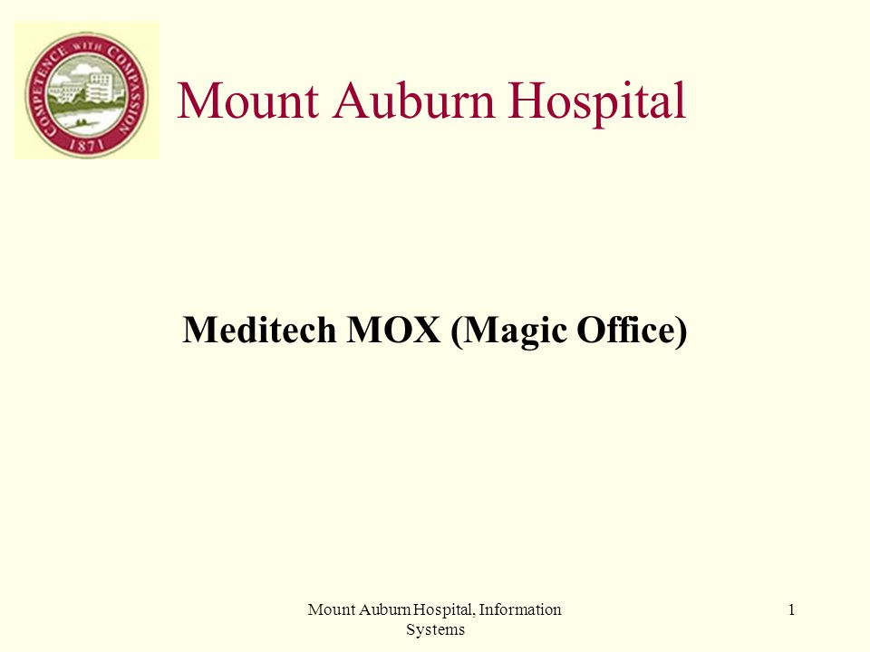 Mount Auburn Hospital, Information Systems 32 Message Drafts Use to: Save a message that you started but cannot finish right now.