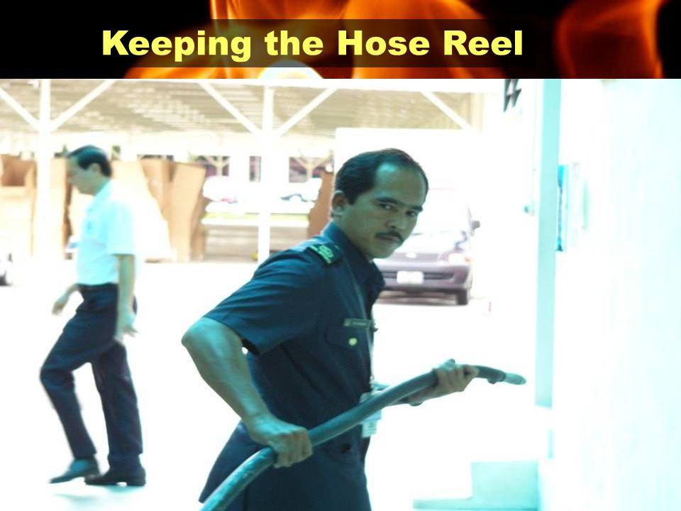 Keeping the Hose Reel