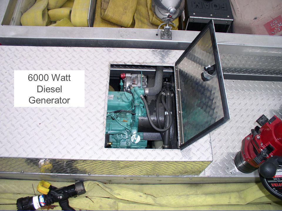 Article 6 - Purchase of Fire Engine - 2007 Annual Town Meeting 6000 Watt Diesel Generator