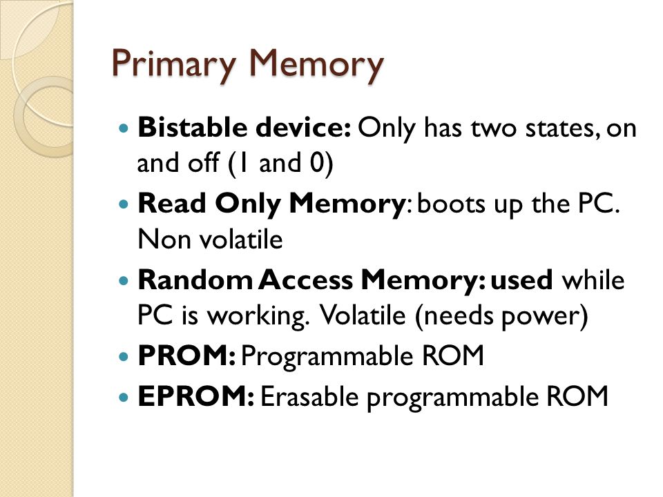 Processing – how does the CPU do it.