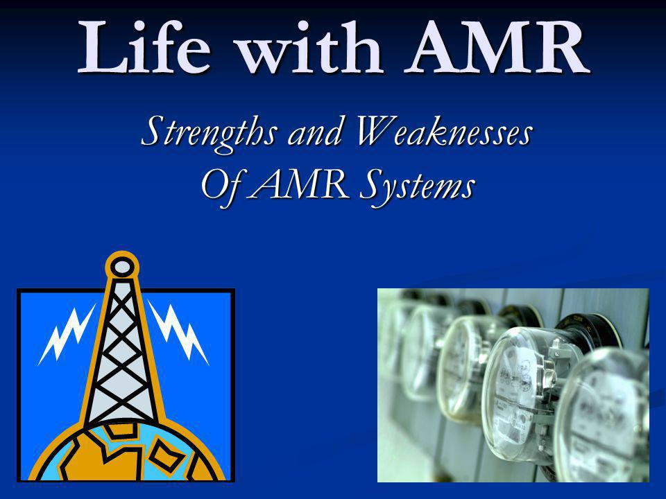 Weaknesses of Solid State AMRs Solid State electronics = inherently higher failure rate.