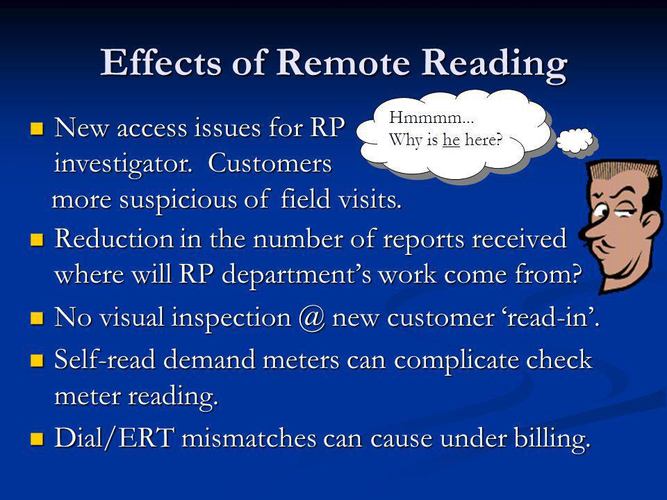 Effects of Remote Reading Reduction in the number of reports received where will RP departments work come from? Reduction in the number of reports rec