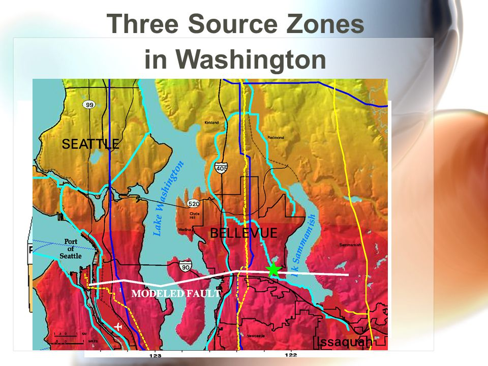 Three Source Zones in Washington