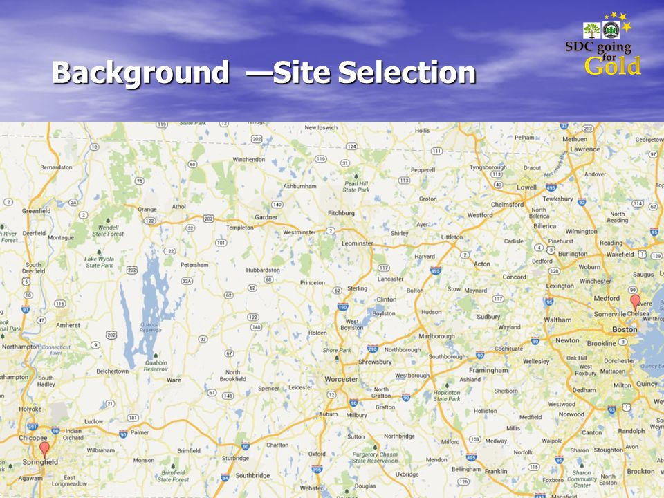 Background Site Selection