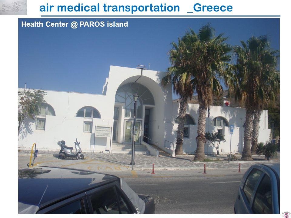 Health Center @ PAROS island