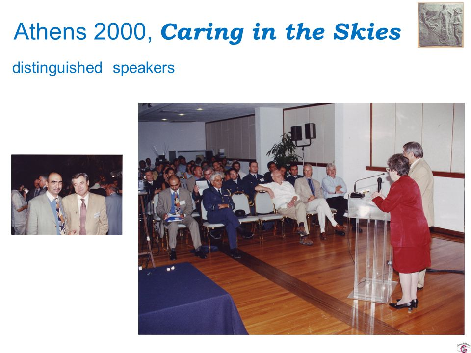 Athens 2000, Caring in the Skies distinguished speakers