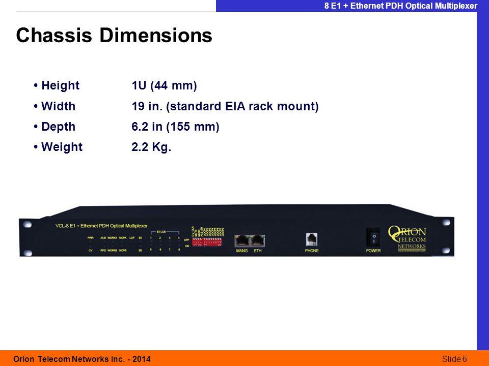 Slide 6 Orion Telecom Networks Inc.