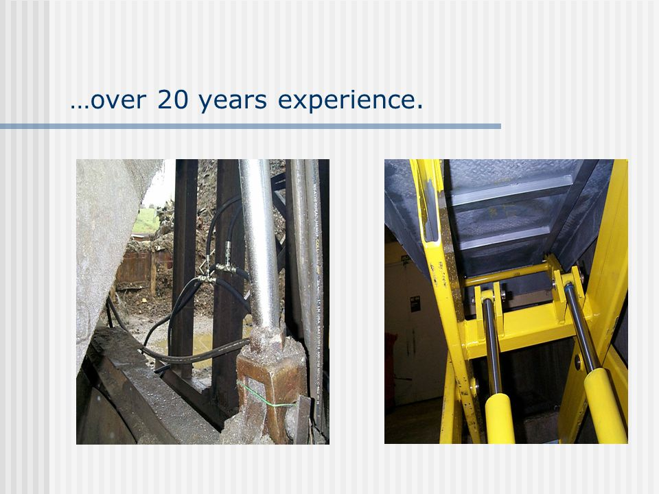 …over 20 years experience.