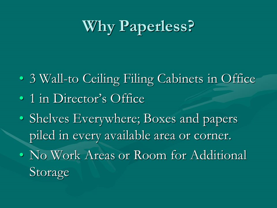 Why Paperless.