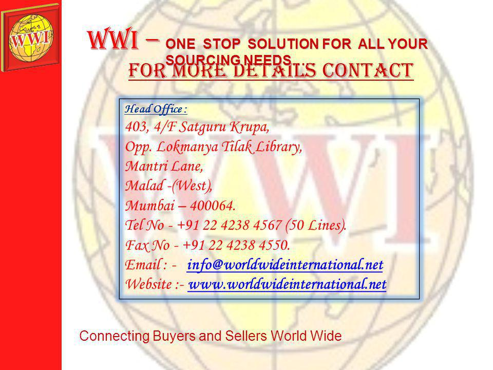 MAIN PRODUCTS exported FROM Vietnam ONE STOP SOLUTION FOR ALL YOUR SOURCING NEEDS…..