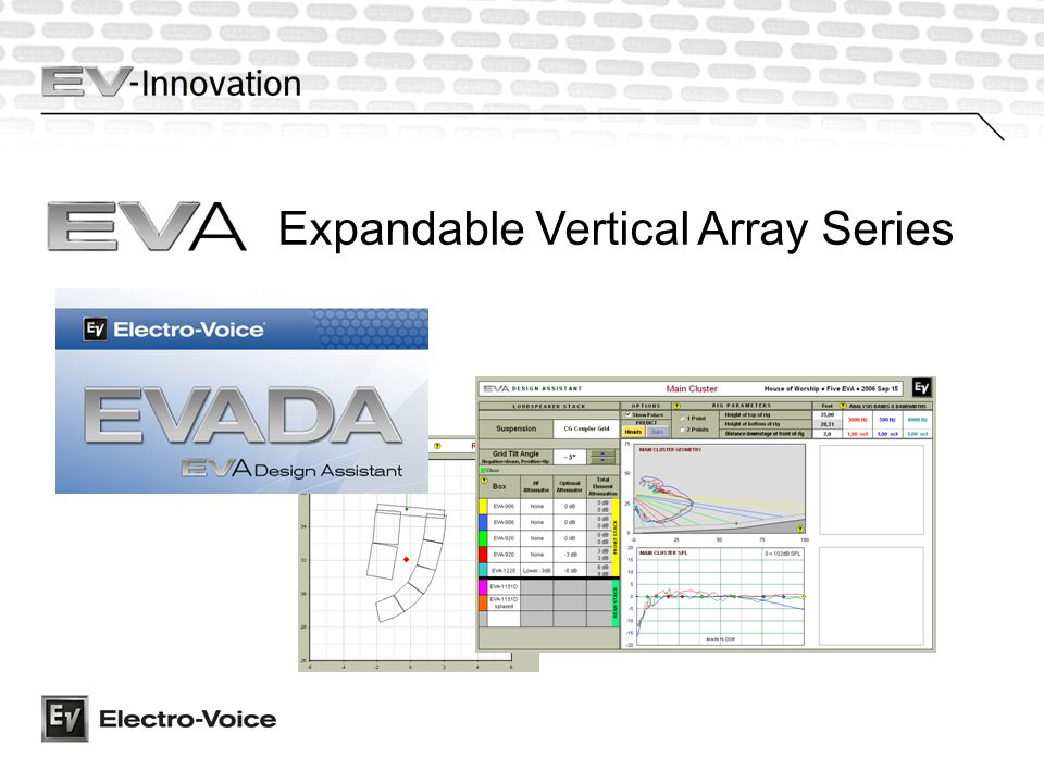 Expandable Vertical Array Series
